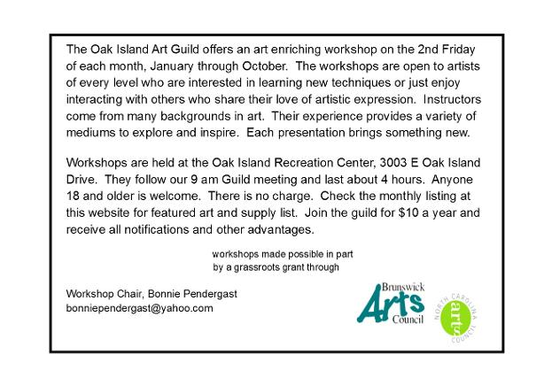 Oak Island Arts And Crafts Festival November